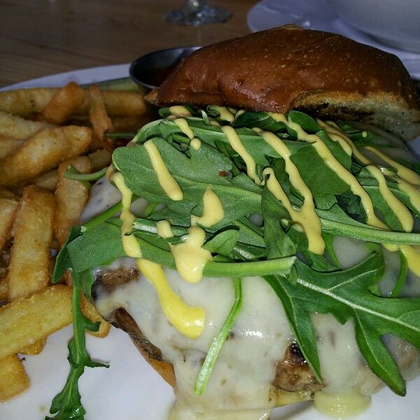 Ribeye Summit Burger @ The Westside Local