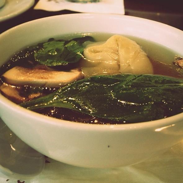 Wonton Soup @ P. F. Chang's China Bistro