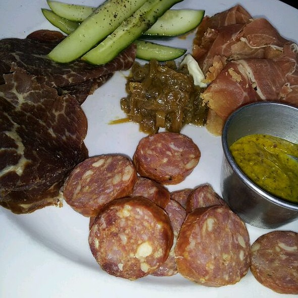 Charcuterie plate @ The Westside Local