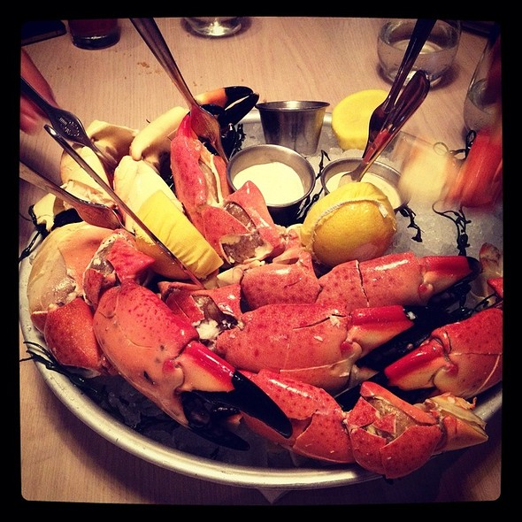 Stone Crab Claws @ The Dutch