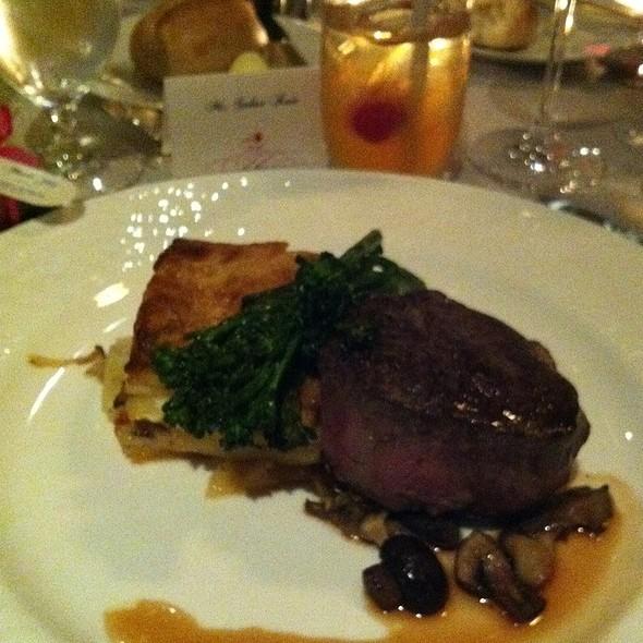 Filet Mignon - Seasons Restaurant - Four Seasons Washington DC, Washington, DC