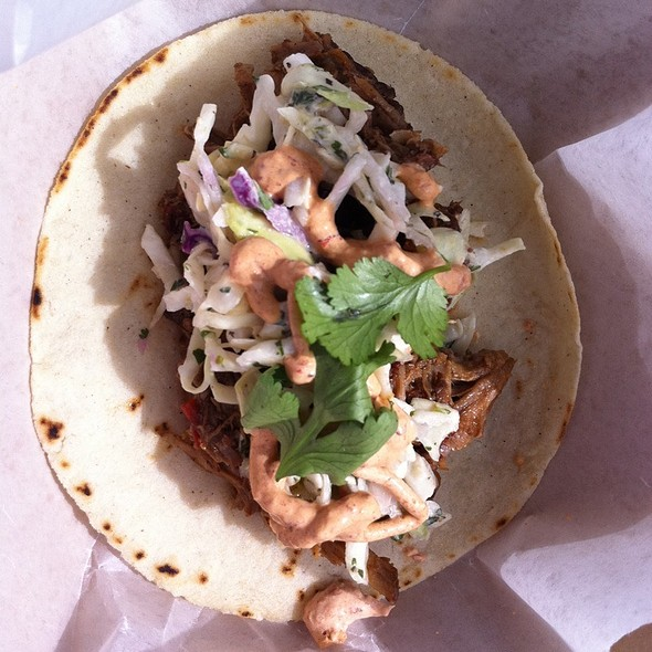 Spicy Java Taco @ Savory And Sweet Truck