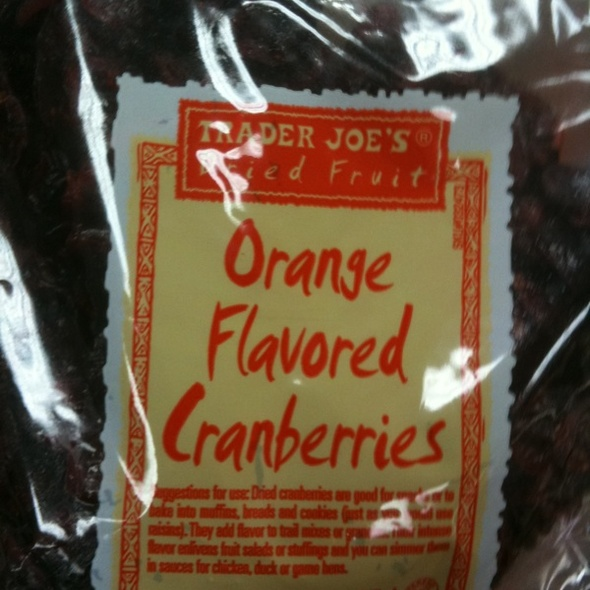 Orange Cranberries @ Trader Joe's
