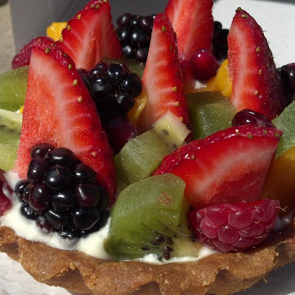 Fruit Tart @ Flour Bakery