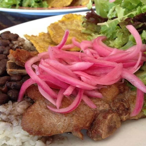 Chuletas Fritas @ Sol Food Puerto Rican Cuisine
