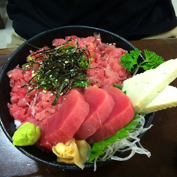 Toro Donburi @ Izakaya Kazu