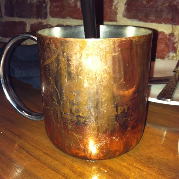 Moscow Mule @ Level Small Plates Lounge