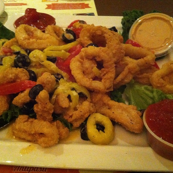 Calamari Giovanni - Spumoni's Restaurant, Pawtucket, RI