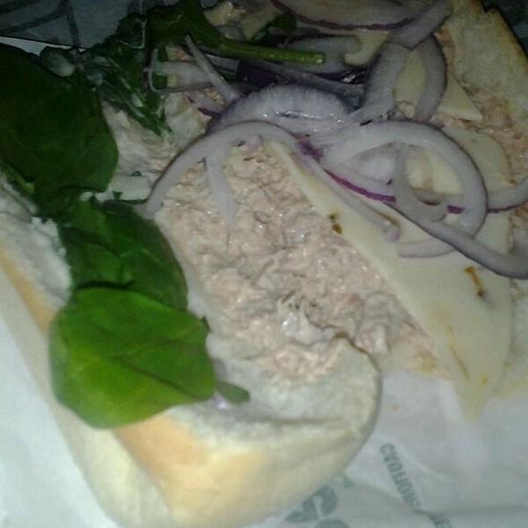 Tuna Sandwich @ Subway