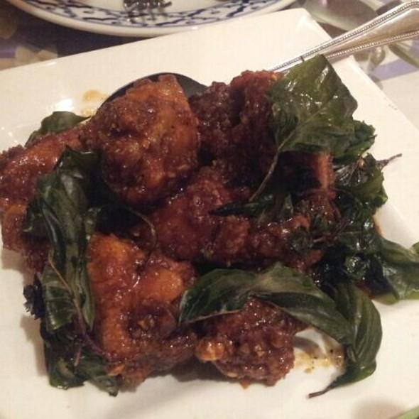 Spicy Angel Wings @ Marnee Thai Restaurant