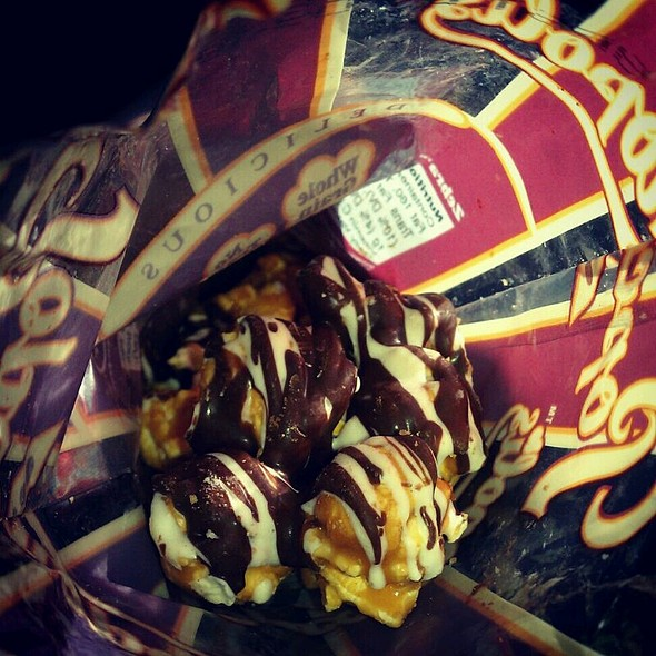 Popcornopiolis Zebra Chocolate Popcorn @ Costco Pharmacy