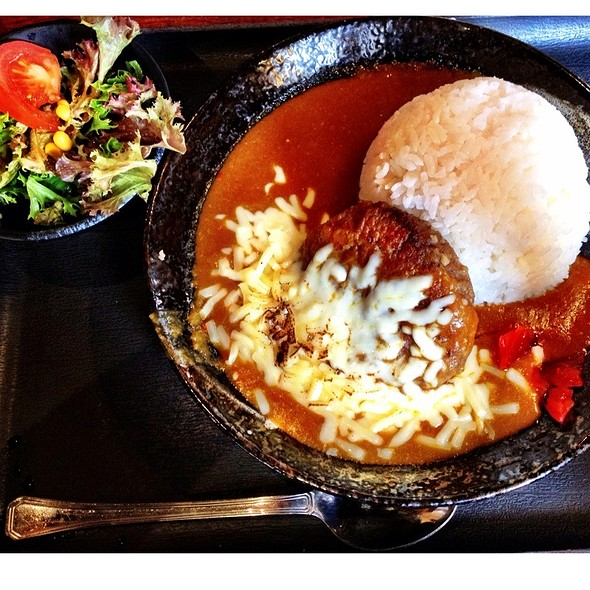 Hamburg Curry with Cheese @ Ramen Kan