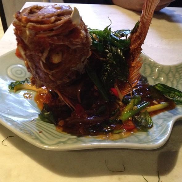 Pla Sam Rod @ Nok Nok Thai Eating House