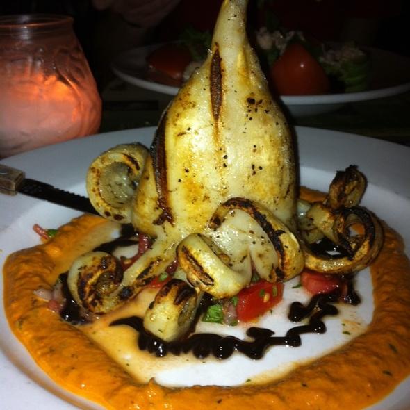 Grilled Calamari @ Van Dyke Cafe