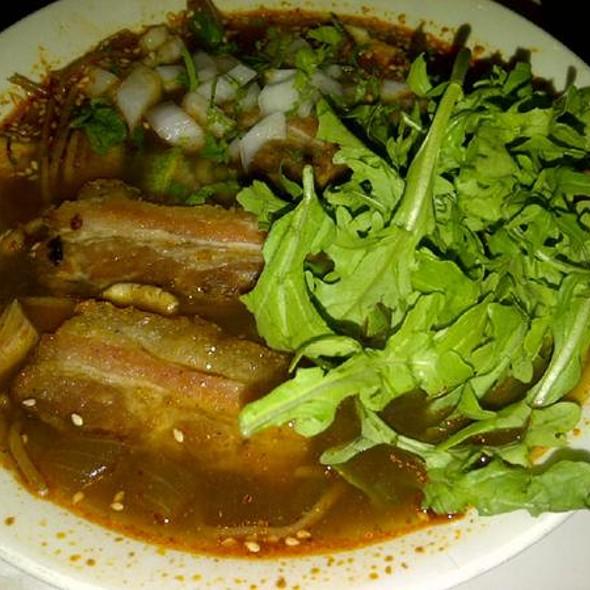 Pork Belly Vermicelli Caldo @ Xoco