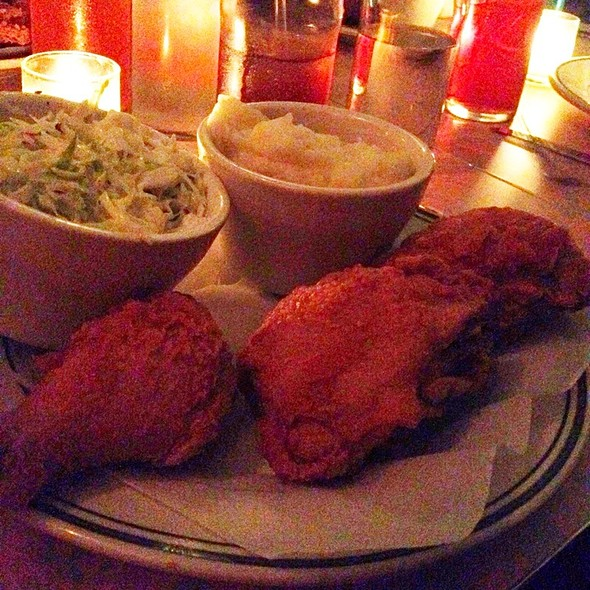 fried chicken @ The Cardinal