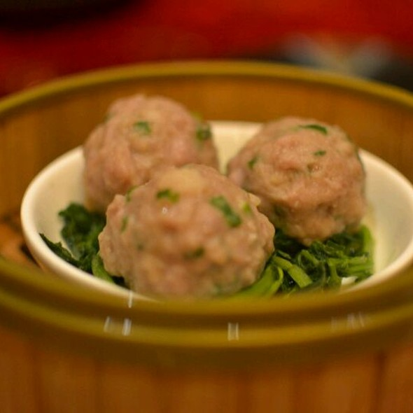 Steamed Beef Ball with Dried Orange Peel  @ Taste Paradise (ion)