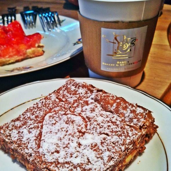 House Made Chocolate Brownies @ Babu's Bakery & Coffeehouse