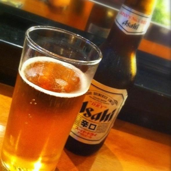 Asahi Beer @ Sushi Masa