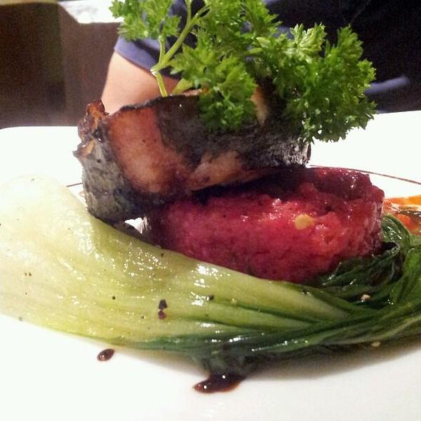 King Fish Steak With Harrissa Sauce  @ Olio, Novotel