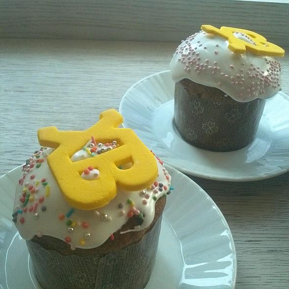 Кулич пасхальный @ Upside Down Cake & Co