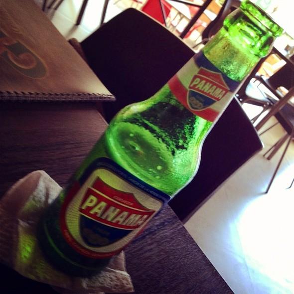 Cerveza Panamá  @ Grill 50