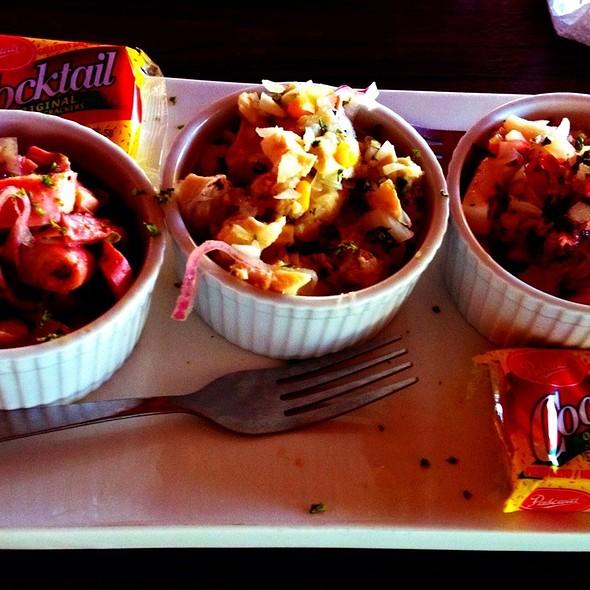 Degustación De Ceviches  @ Grill 50