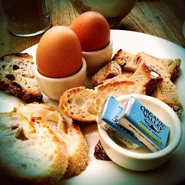 Two Half Boiled Eggs @ Le Pain Quotidien
