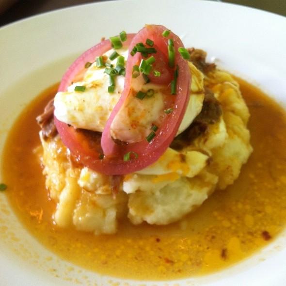 Pork Carnitas & Eggs @ Selland's Market Cafe