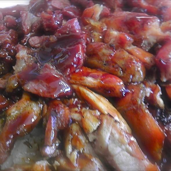 Beef and Chicken Combo Bowl @ Yogi's Teriyaki House
