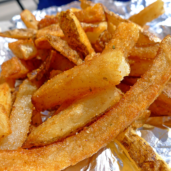 Cajun French Fries @ Five Guys Famous Burgers & Fries