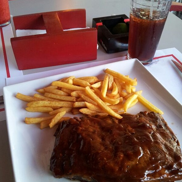 Baby Back Ribs @ Red Grill