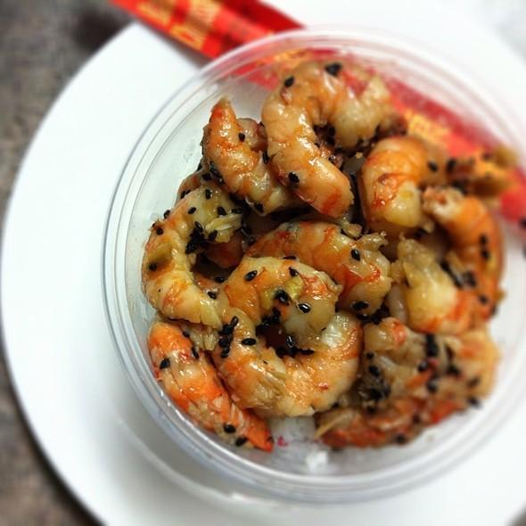 Ginger Shrimp Poke @ Poke Poke