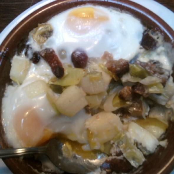 Shirred Eggs @ Slappy Cakes