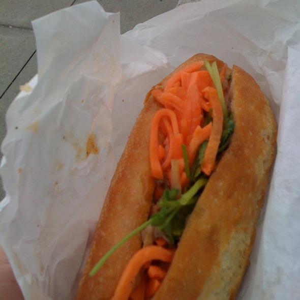 Roast Pork Sandwich @ Saigon Sandwich