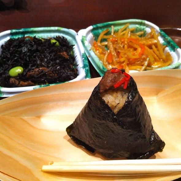 Beef Rice Ball