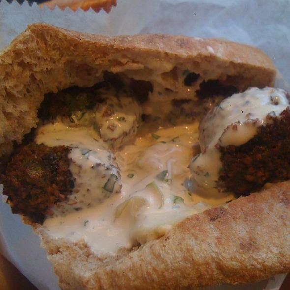 Falafel Sandwich @ Taim
