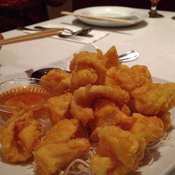 dancing calamari @ Souvaly Thai Cuisine