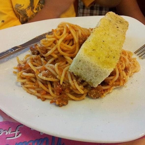 Spaghetti Bolognese @ The French Baker