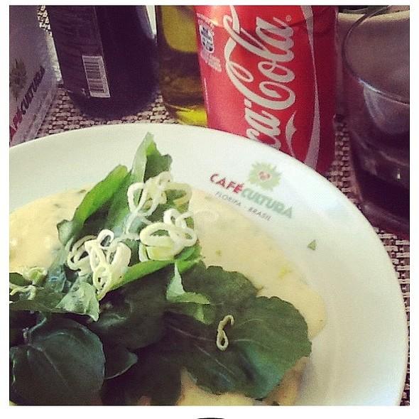 garden salad @ Cafe Cultura