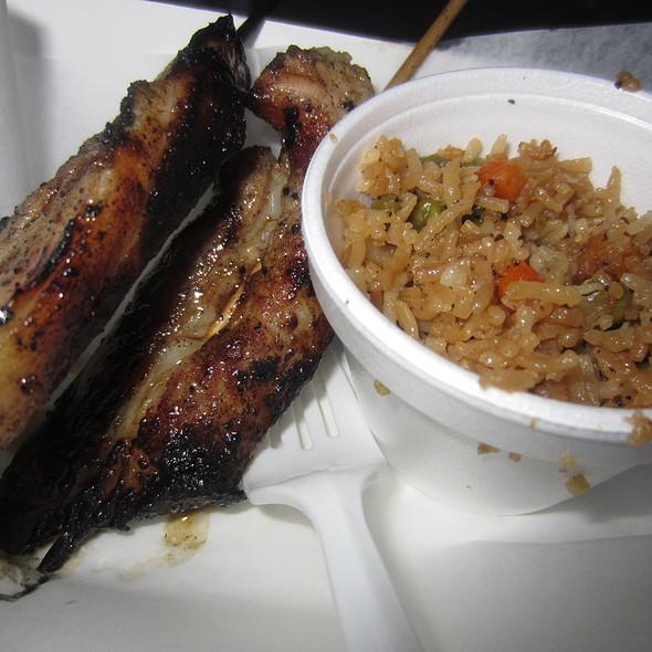 Korean Bbq Pork Belly @ Stick It Truck