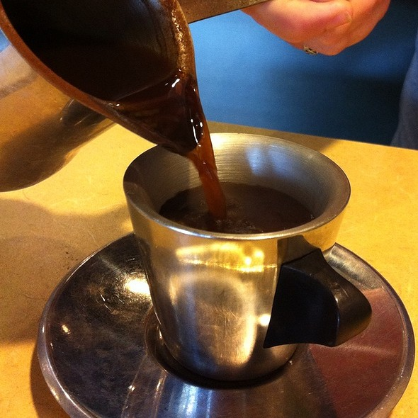 Turkish Coffee @ Aladdin's Mediterranean Grill & Deli