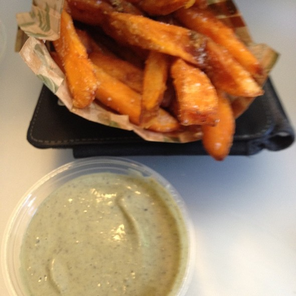Sweet potato fries @ HipCityVeg
