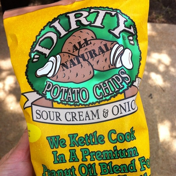 """Dirty"" Potato Chips @ Feed Me"