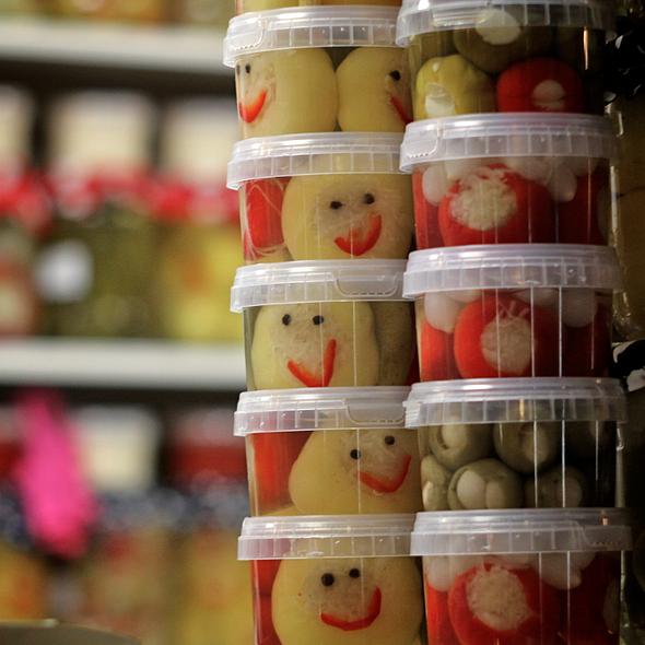 Pickled Vegetables @ Central Market