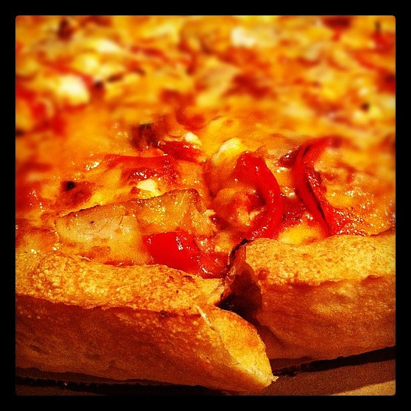 their #pizza is my crack, @sjnelson3. ie @ Sarpino's Pizzeria