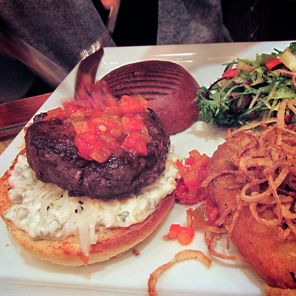Bock Burger @ Bock Bistro