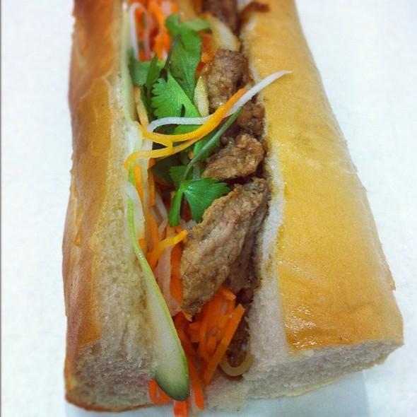 Steak Banh Mi @ Feed Me