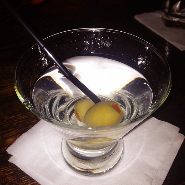 Classic Gin Martini @ The Brazen Fox