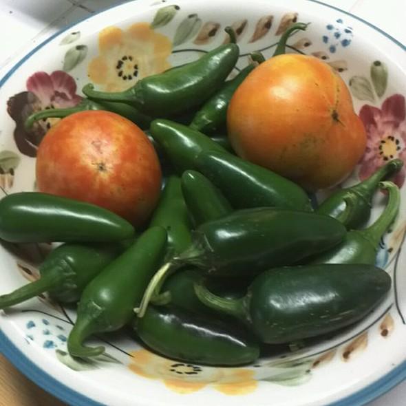 Jalopenos & Tomatoes